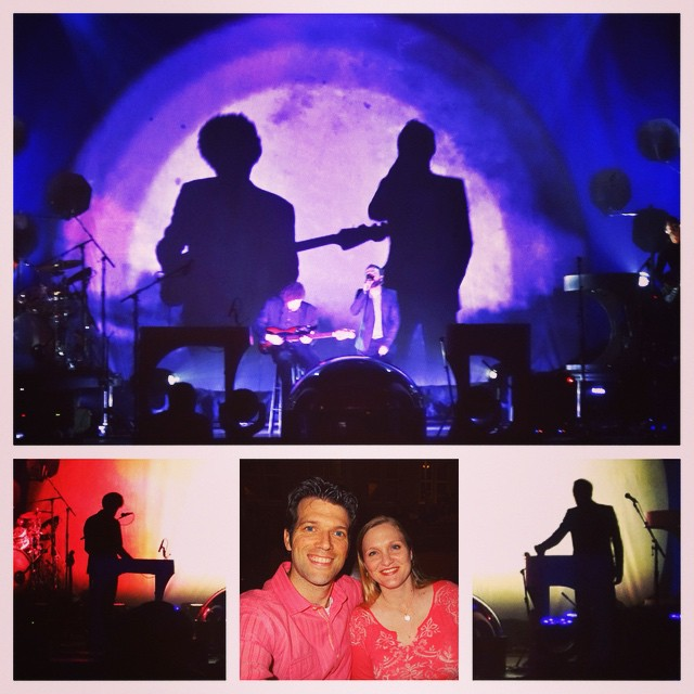 Birthday celebration for Olivia continues with Broken Bells who are killin' it @theRyman right now. #family #music