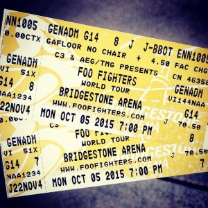 Got 'em!! #music #foofighters