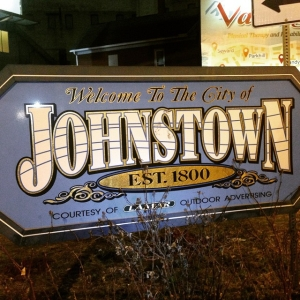 Just finished my third consecutive nighttime run while traveling for work in Johnstown, PA. Left my Garmin at home so had to run with my phone as a GPS. #running
