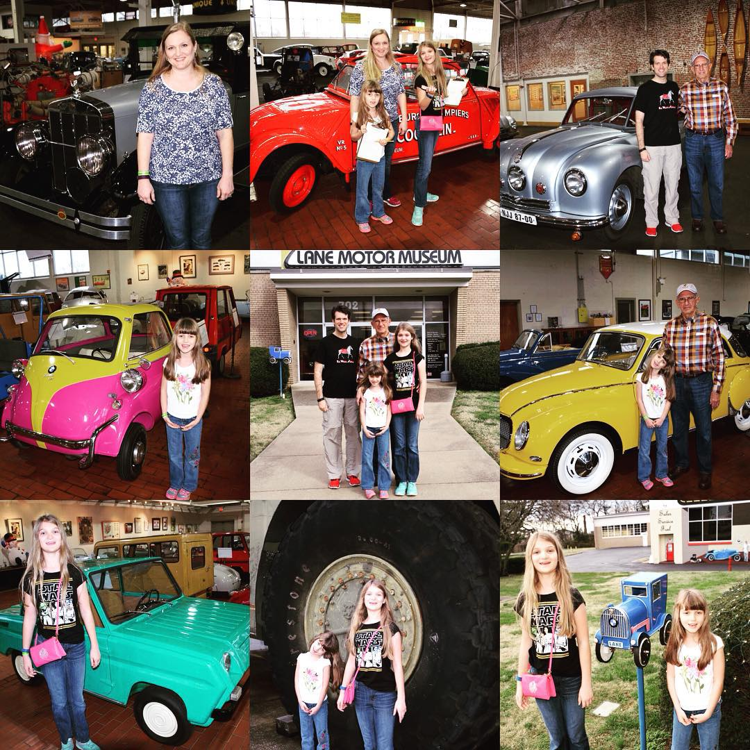Our #family after-Christmas adventure today was at the Lane Motor Museum on Murfreesboro Rd. Such a cool place.