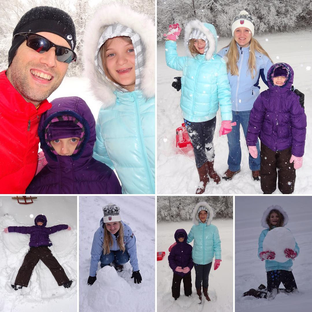 Snow Fun with my Snow Girls! #family