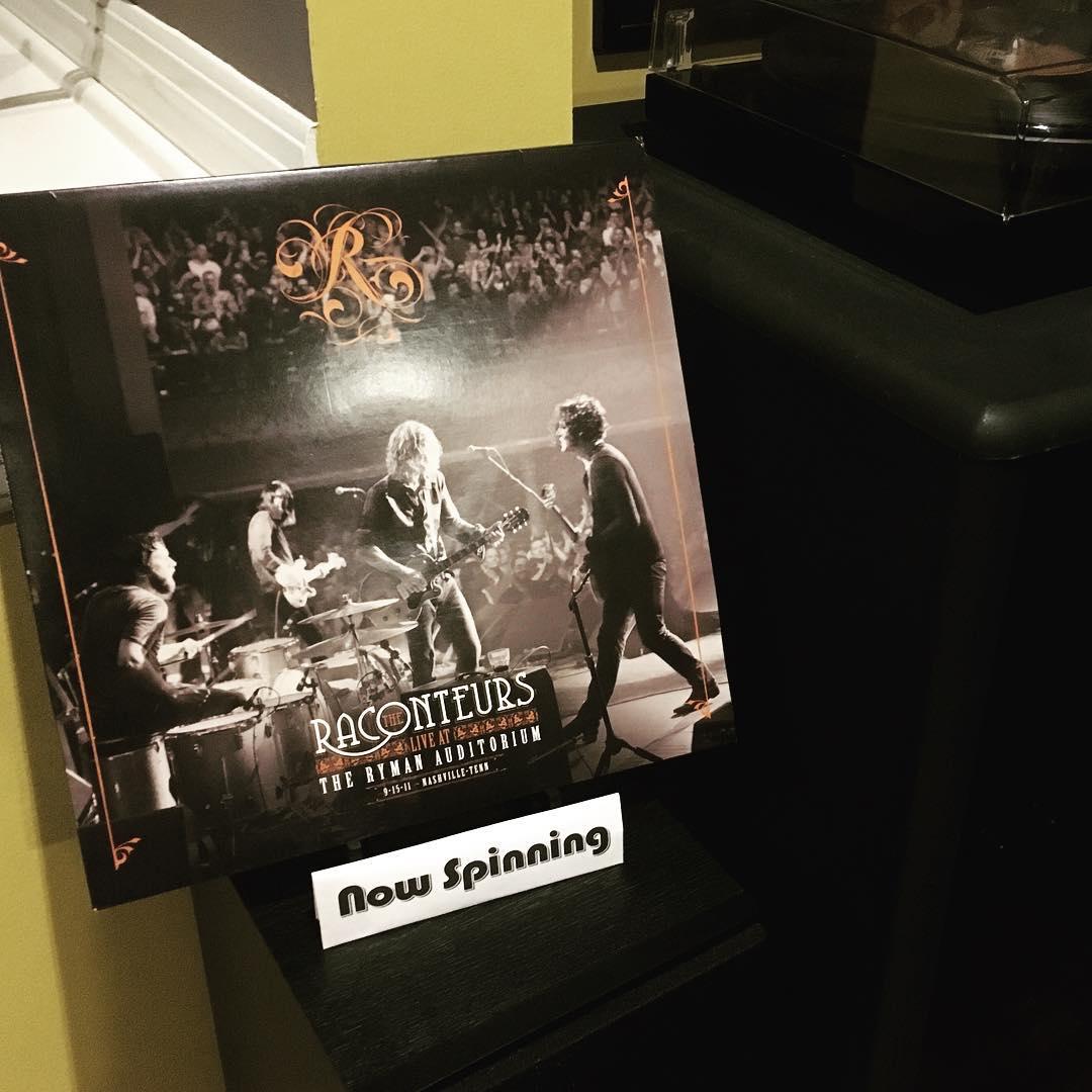 My newest #JackWhite live album acquisition - The Raconteurs: Live at the Ryman on #vinyl #music