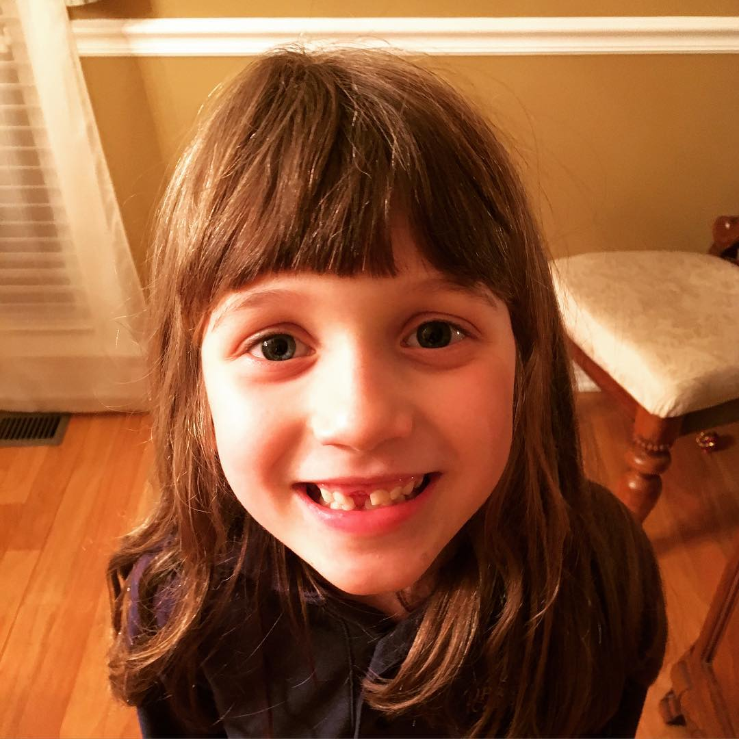 This cutie just lost tooth no. 4 - #family