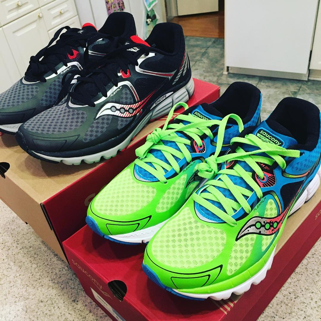 New shoe day! #running #kinvara6