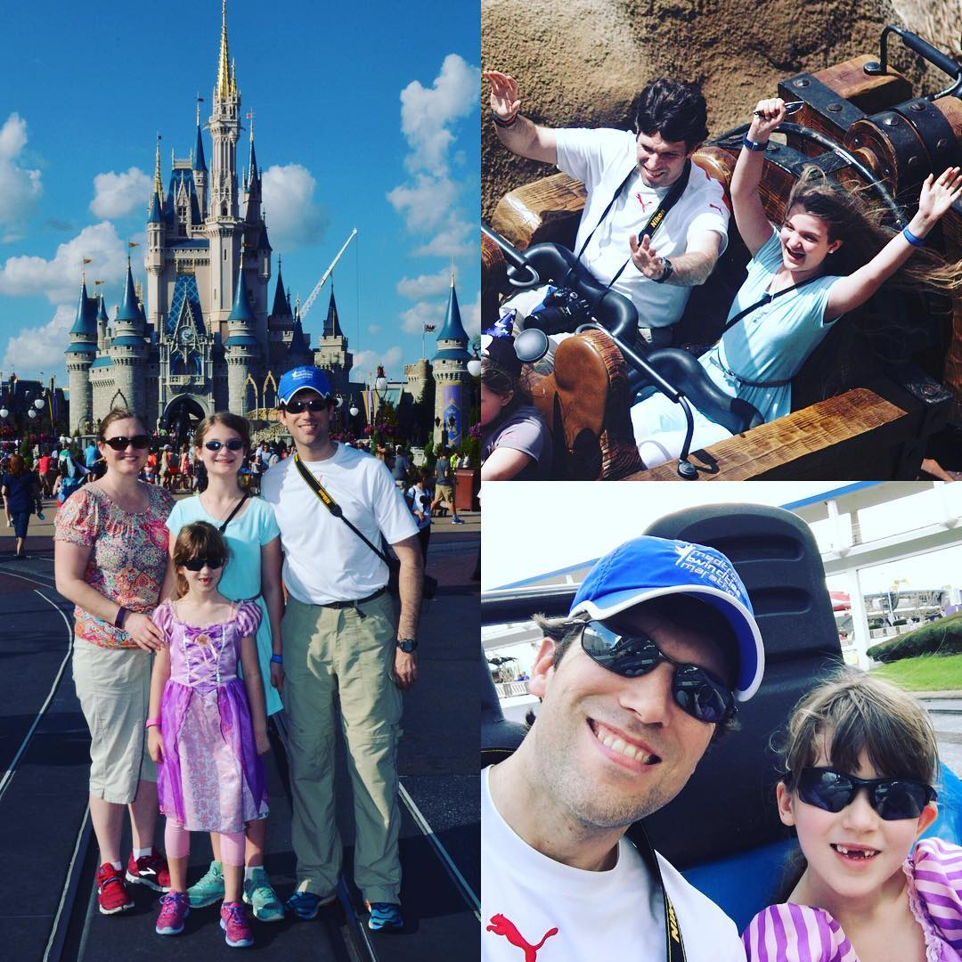 Day 1 of our #Disney Spring Break Vacation is in the books. We're exhausted, but had a blast!! #family #travel