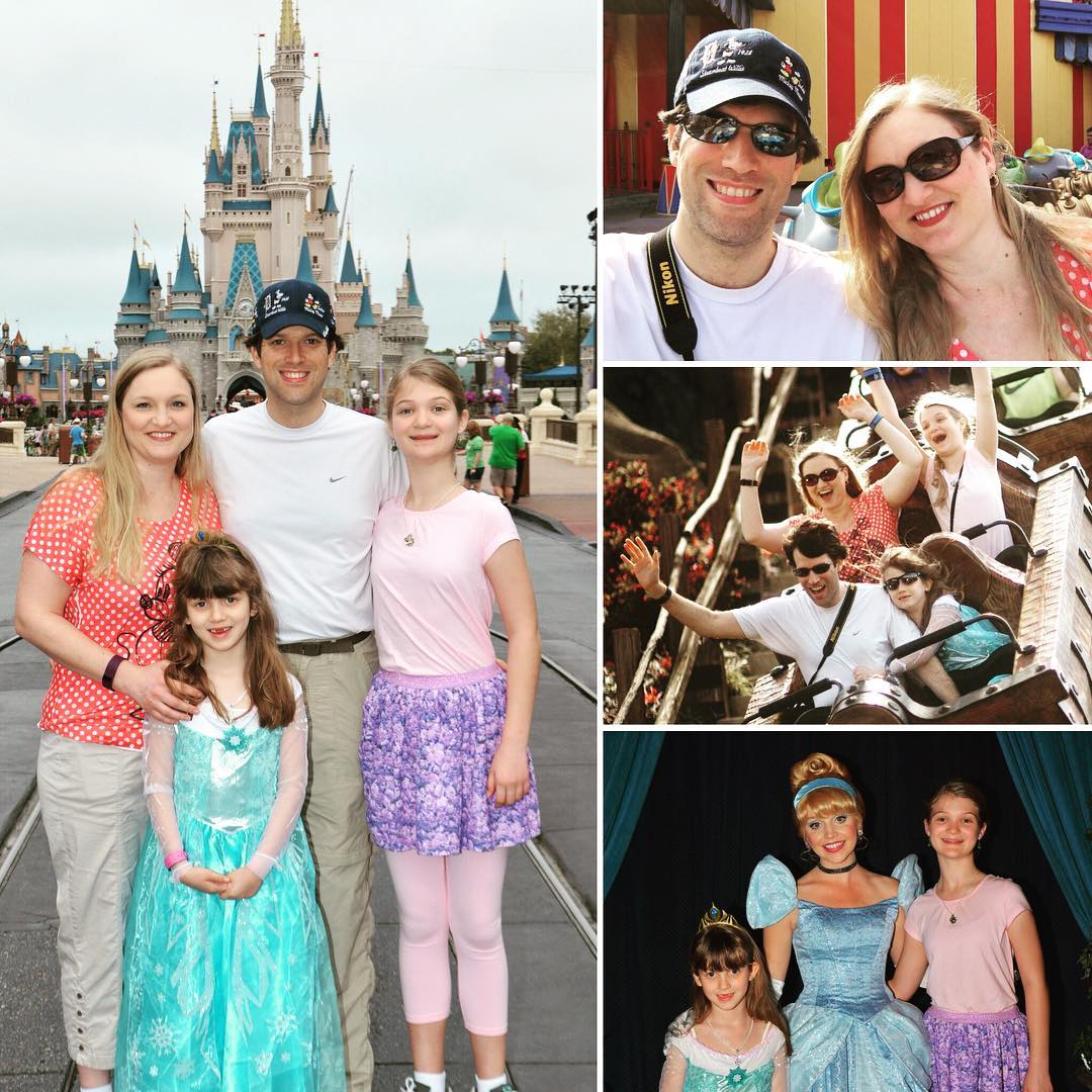 Day 4 of our #Disney Spring Break vacation has been so much fun, and it is still going after an awesome dinner in Cinderella's castle. #family #travel