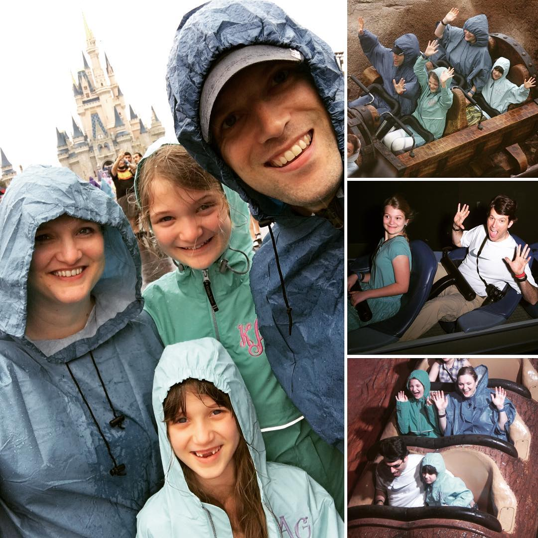 Day 6 has been a rainy, but still ride-filled, day at #Disney Magic Kingdom. It has been a great vacation, and now we are headed to the airport for our journey back to Nashville. #travel #family