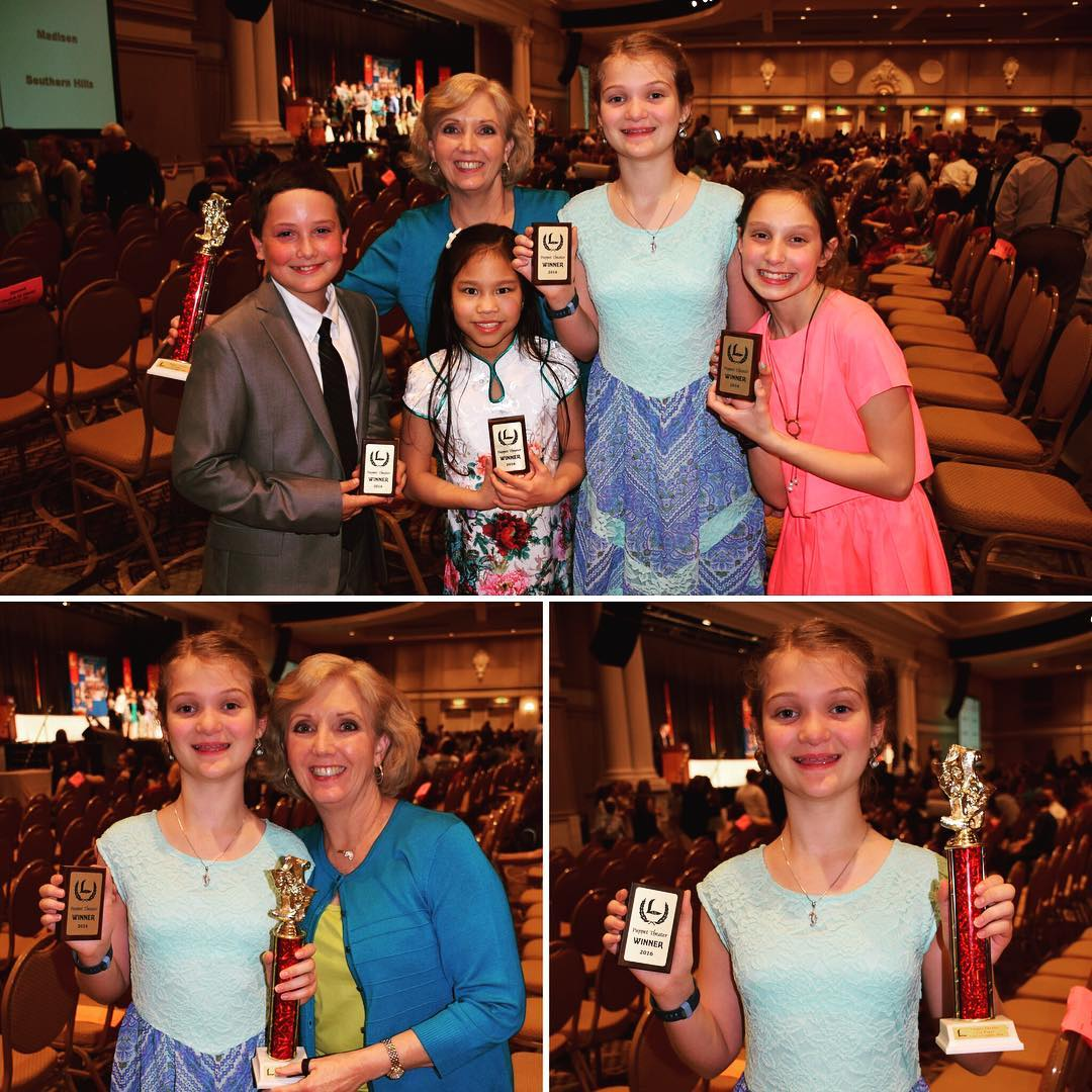 First place puppet team for 5th grade at last night's Lads to Leaders Convention awards ceremony. #family #faith