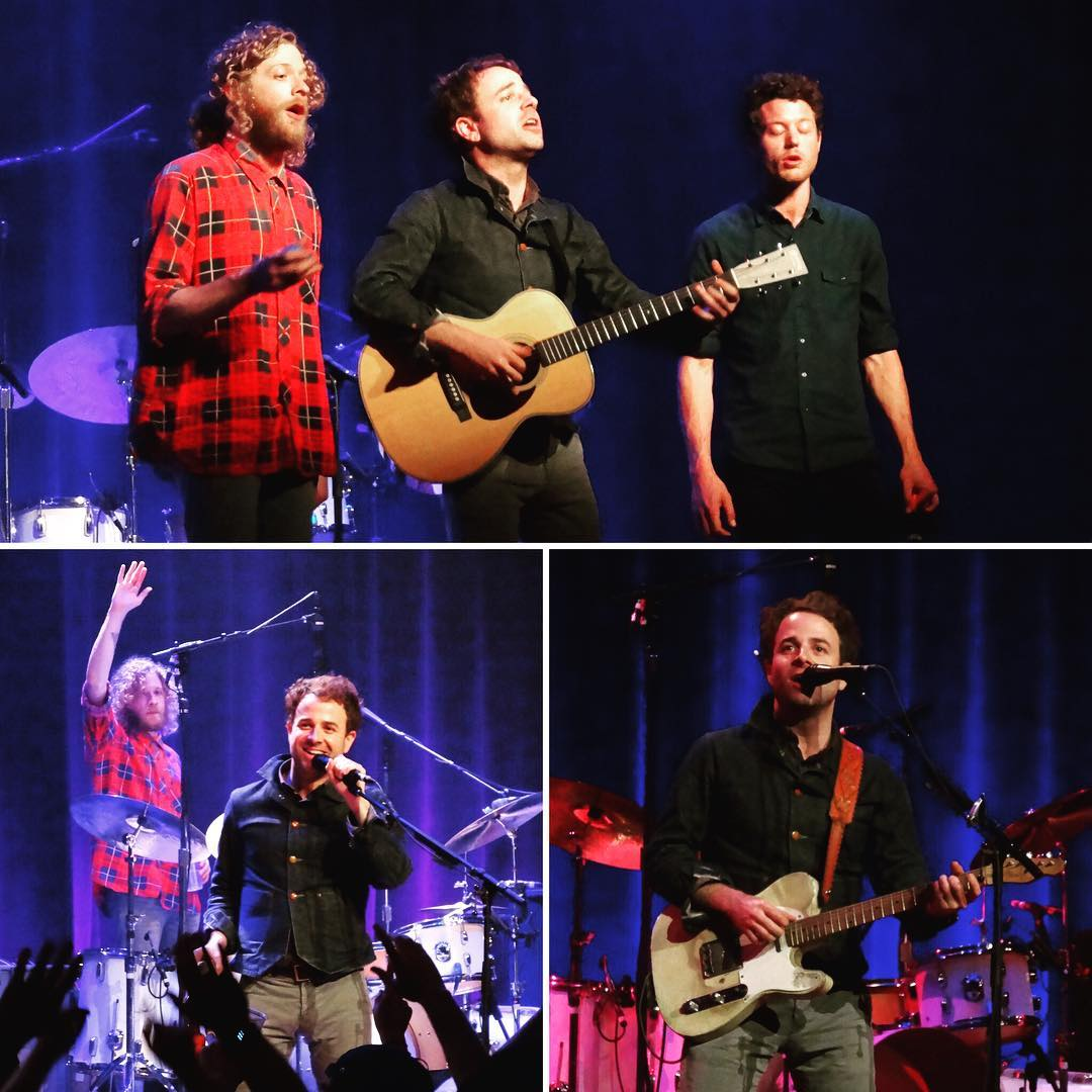 """For my money the best album of 2015 was """"All Your Favorite Bands"""" by @Dawestheband and last night they put on the best show I've ever seen at @theRyman - This included a rendition of """"How Far We've Come"""" without any amplification. If you don't know about Dawes, I highly encourage you to check out their work. #music"""