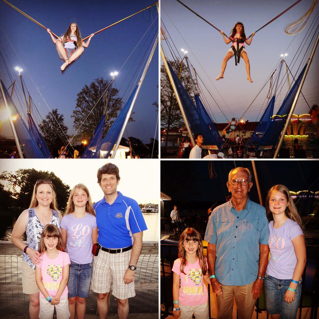 Fun time at Barefoot Landing last night. #family #vacation #myrtlebeach
