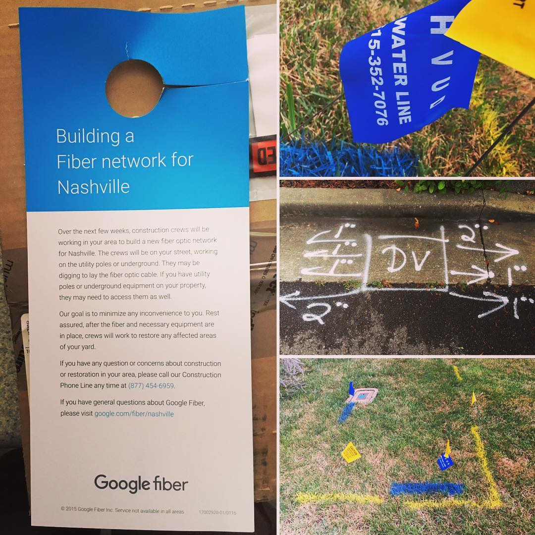 Google Fiber is gettin' real y'all!! #nomorecomcast #googlefiber