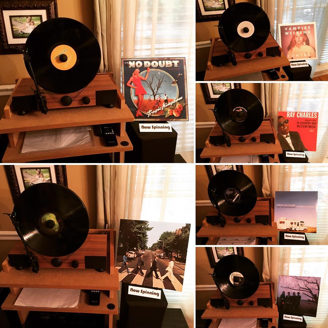 We ended up listening to 11 records today...here are the first 6. #vinyl #music #mygramovox #linephonointhewild