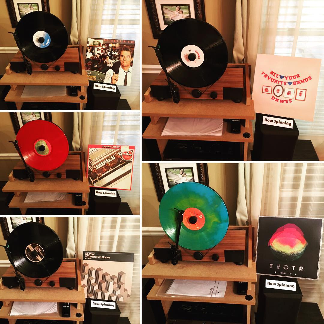 And here are the other 5! I love #vinyl records!! #linephonointhewild #mygramovox