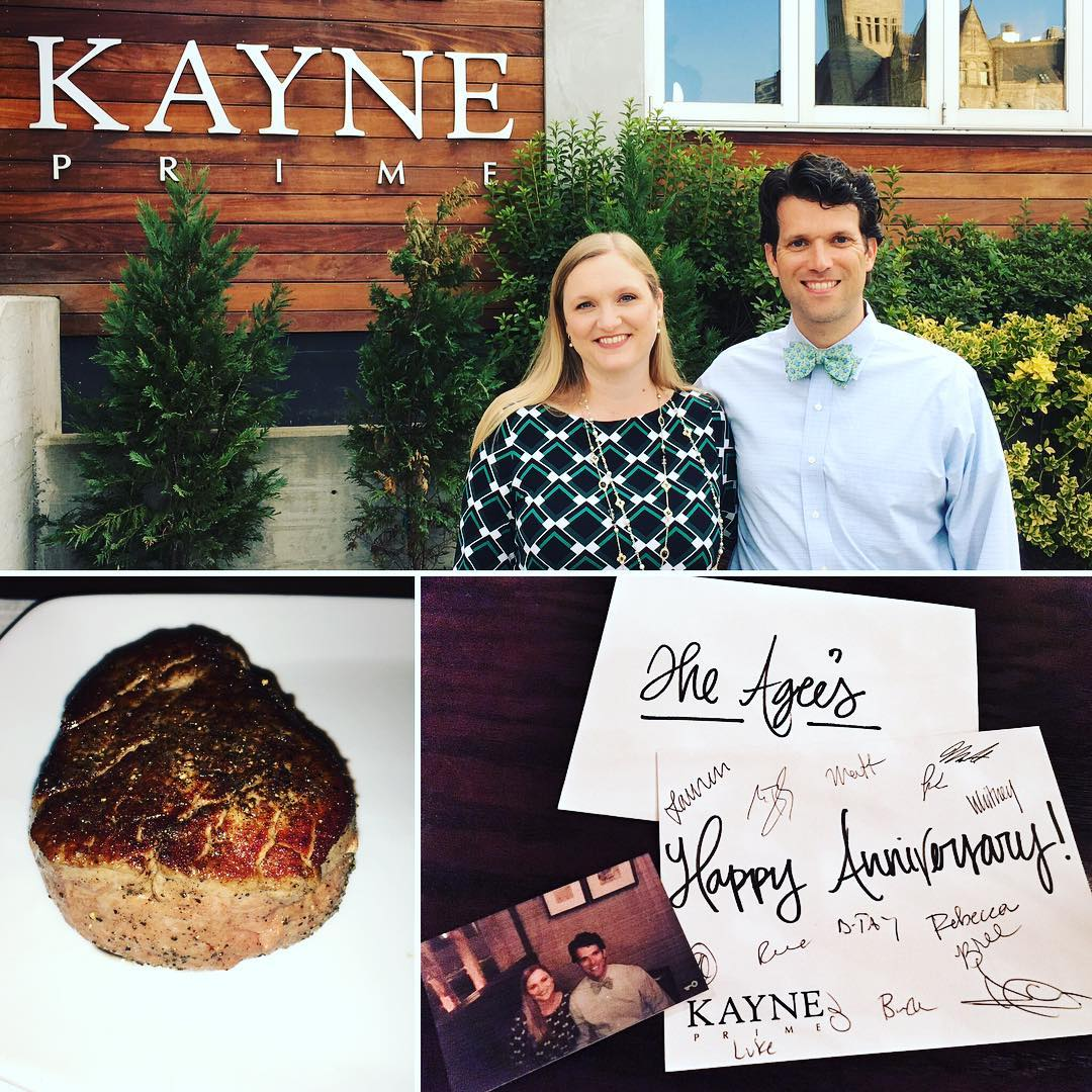 Anniversary dinner @ Kayne Prime. Yes! #wagyu #steak #food