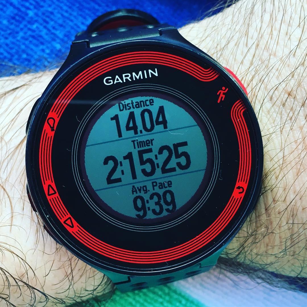 Longest run in quite a while. It feels good to train hard again. #running #marathon #262
