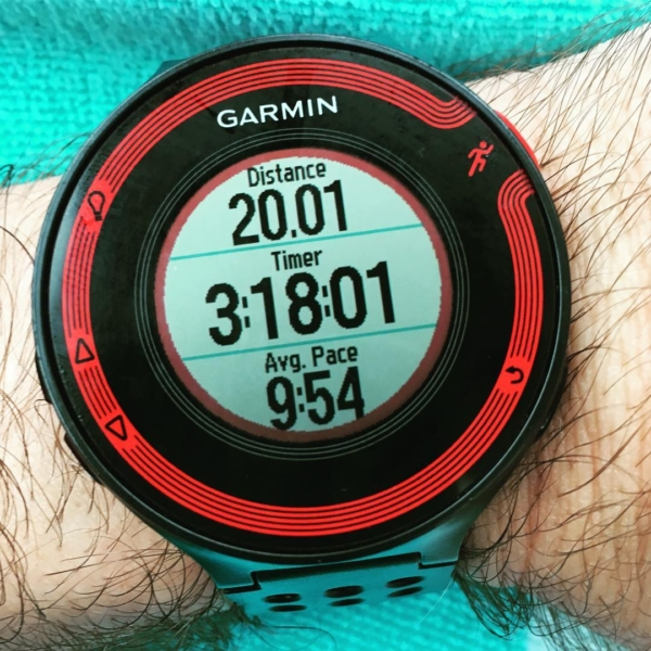 Second 20-miler of #marathon training is DONE! My pace was not great, but I'll take it considering it has only been 5 days since the Middle Half Marathon. Big thanks to Brian for joining me for the first half of the run. #running #indianapolismonumentalmarathon