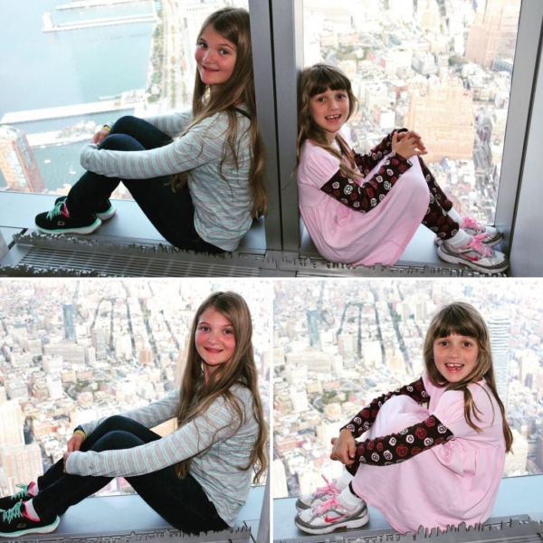 One World Observatory. 100 floors in 47 seconds via elevator. Crazy! #travel #family #nyc