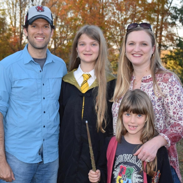 First Halloween celebration tonight in Lebanon. Tomorrow night Olivia and I plan to join in on the dress up fun at Trunk or Treat! #family #halloween #harrypotter