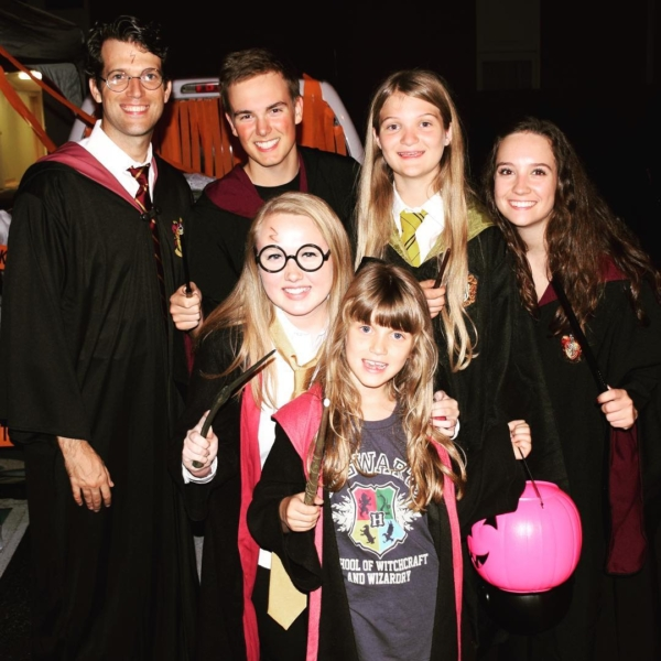 Lots of witches and wizards at BCOC Trunk or Treat tonight! #harrypotter #halloween #family