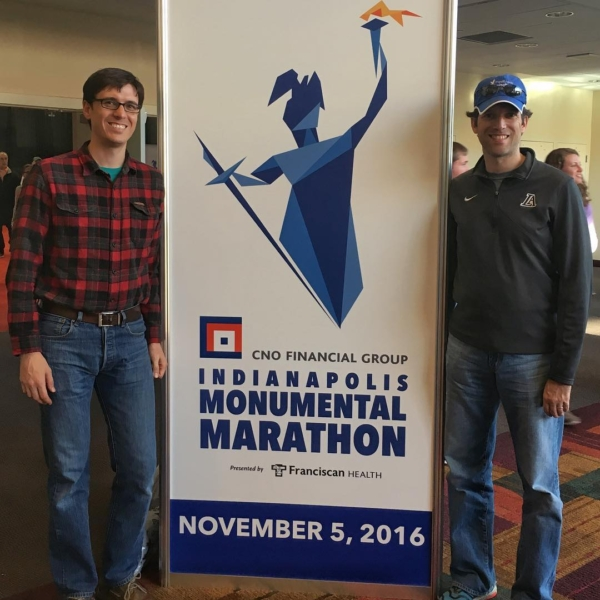 Less than 24 hours until the Indianapolis Monumental Marathon. Starting to finally feel real. #indianapolismonumentalmarathon #running #marathon