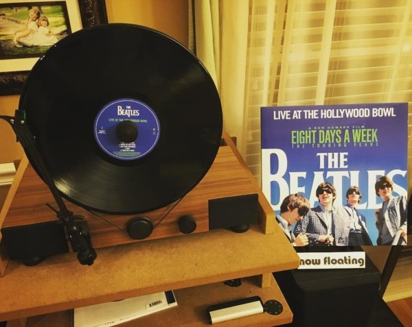"New #vinyl no. 1 from @Grimeys for #newmusicfriday is ""Live at the Hollywood Bowl"" by The Beatles. The work done on this by Giles Martin in improving on the original is remarkable. @gramovox #nowfloating #thebeatles"