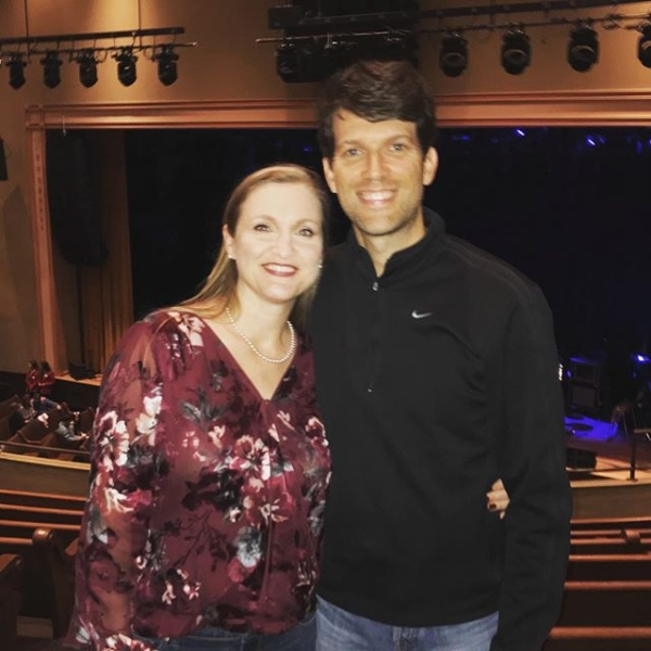 Date night with my bride for Ben Rector (@Ben_rector) show no  2 at