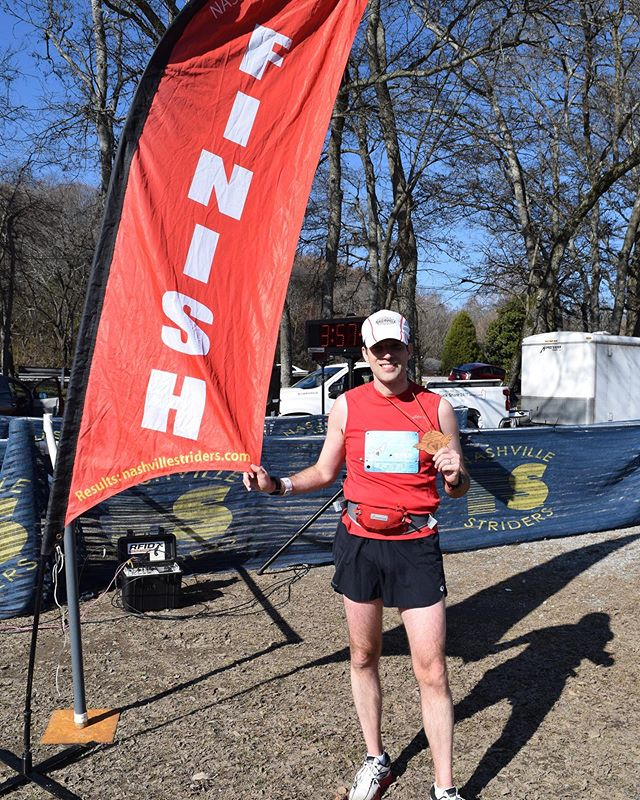 Marathon no. 18 is in books and this one HURT! My finish time of 3:51:22 (40th overall) was slightly slower than my goal but was all I had today. Shout-out to my best bud Brian for continuing to improve his Flying Monkey time with a finish of 3:50:58 (38th overall). 7,200 ft of elevation change in a #marathon is no joke! #running #hhflyingmonkey