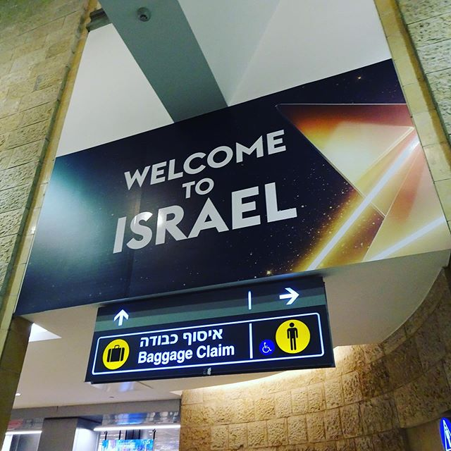 We made it! #israel2020 #travel