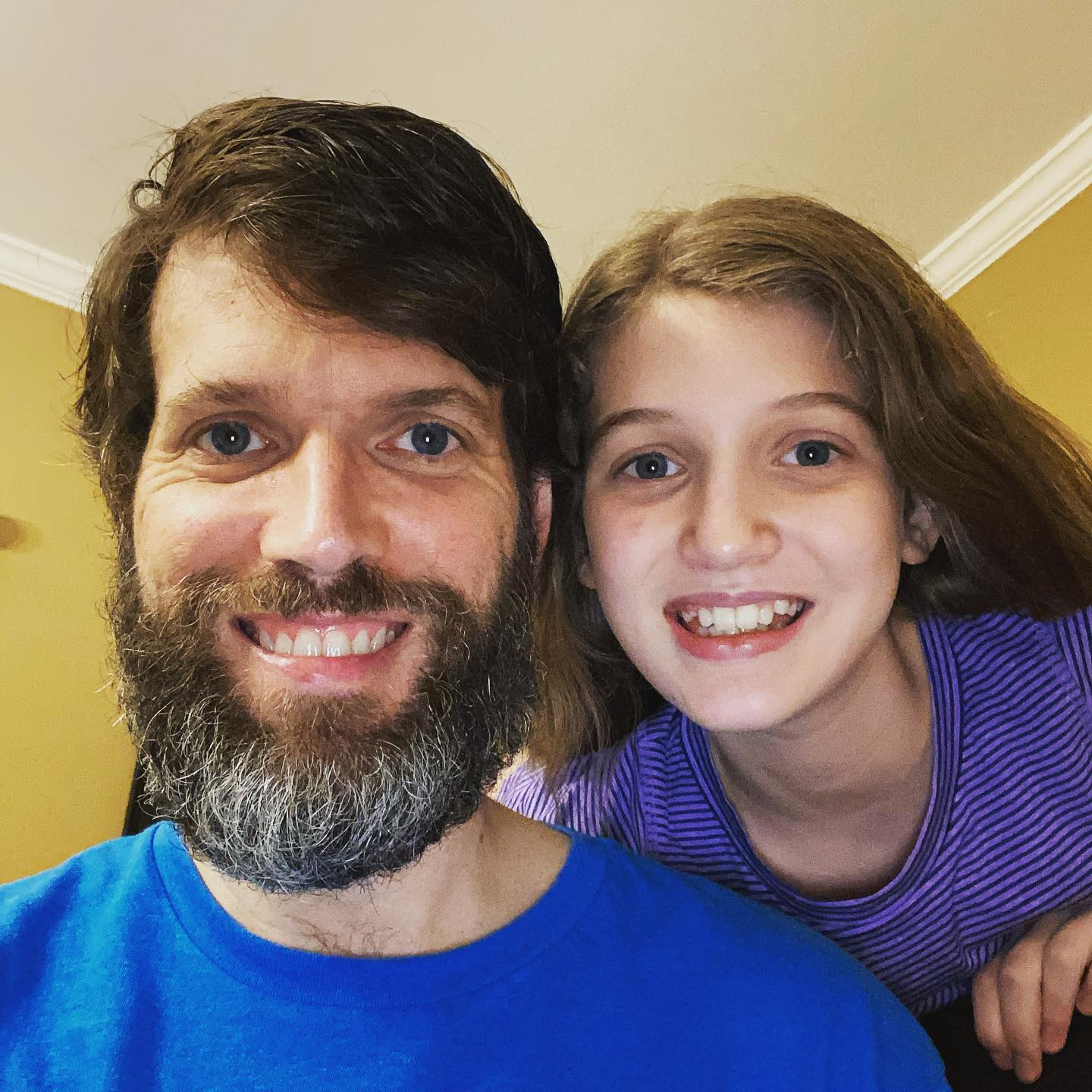 Beard update - Day 82. Sara wants me to make it to 100 before I trim it but I'm looking pretty haggard! #family #beard