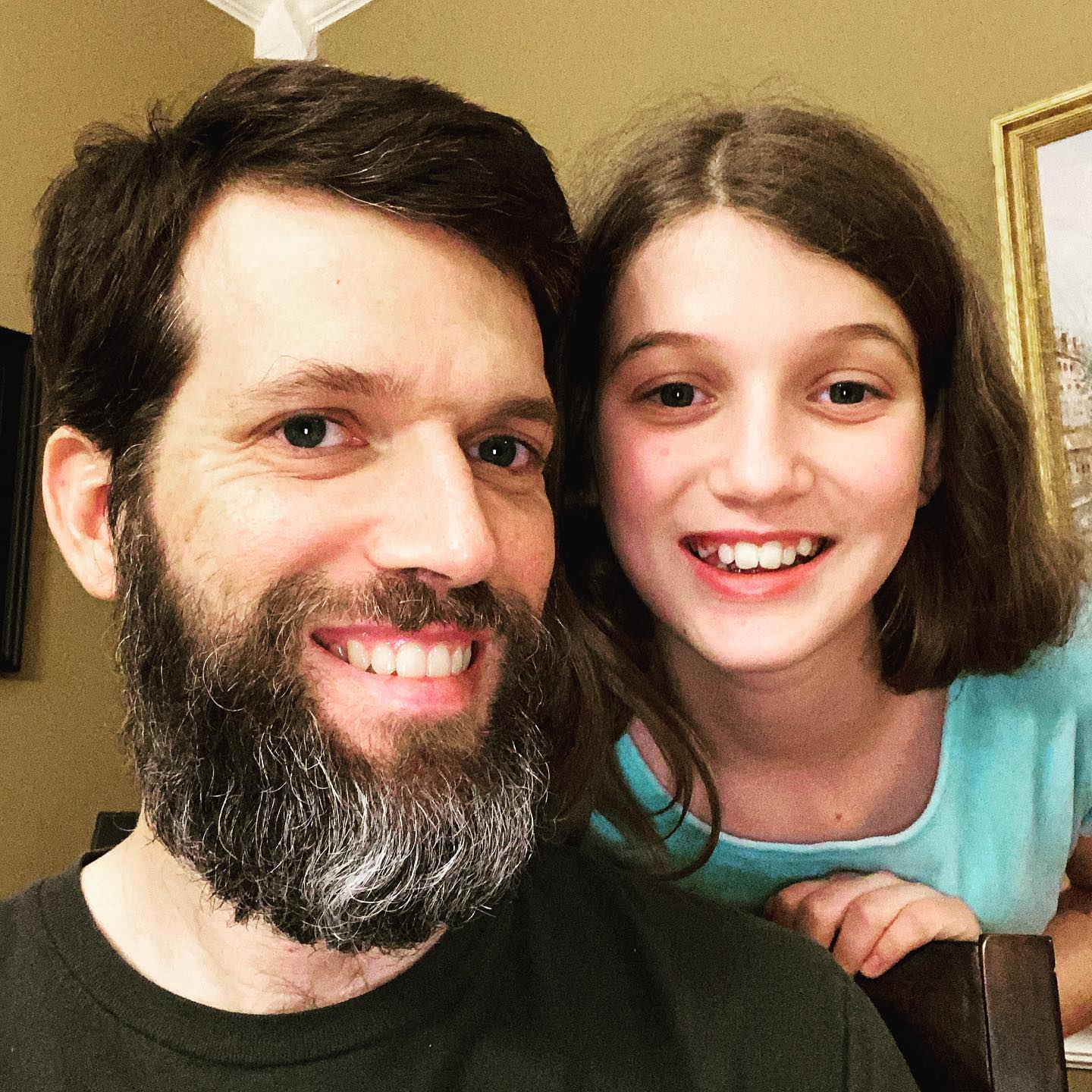Self-quarantine beard update - Day 100. This will likely be the last update before I trim it for the first time. #family #beard