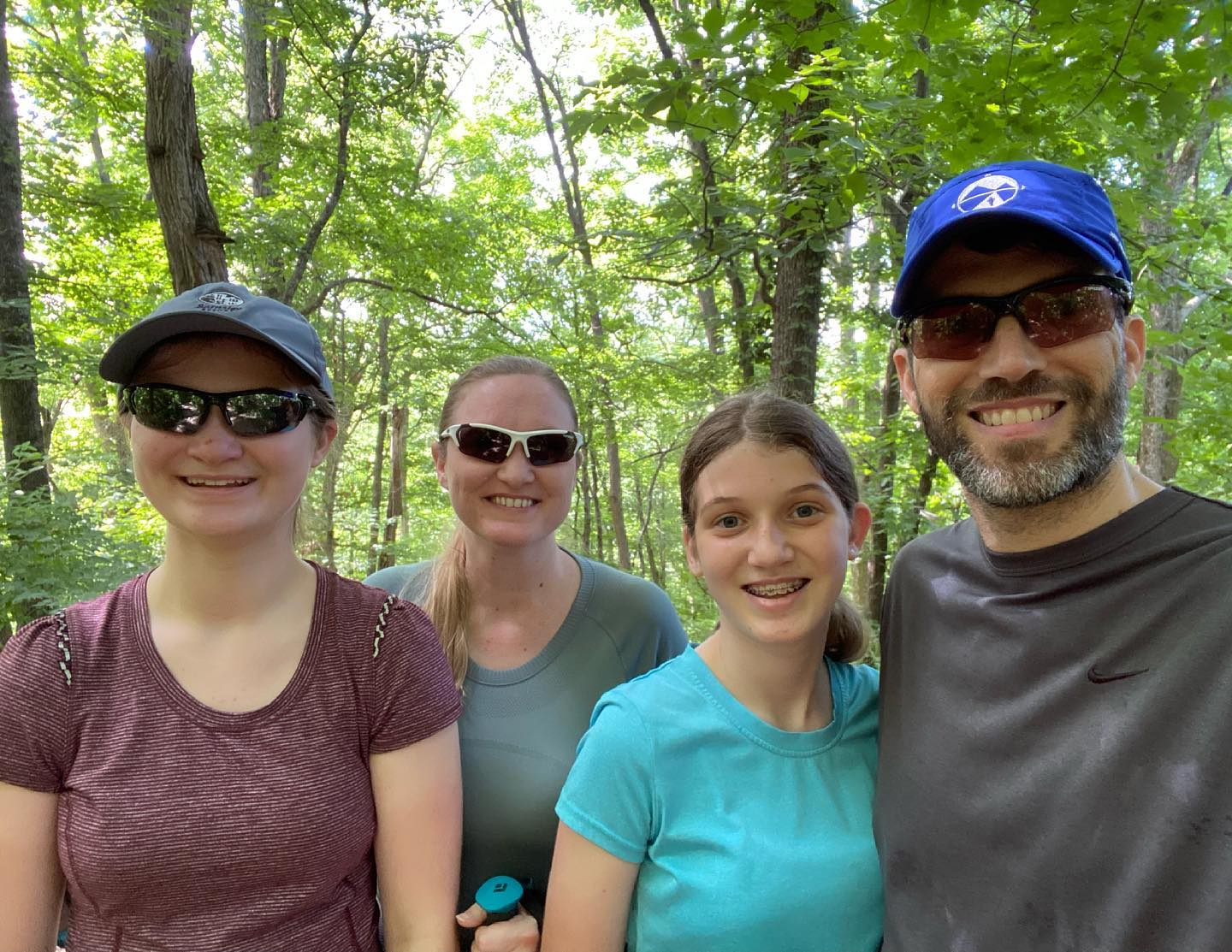 Fun Memorial Day hike on the Red Trail in Percy Warner Park. #family #hiking