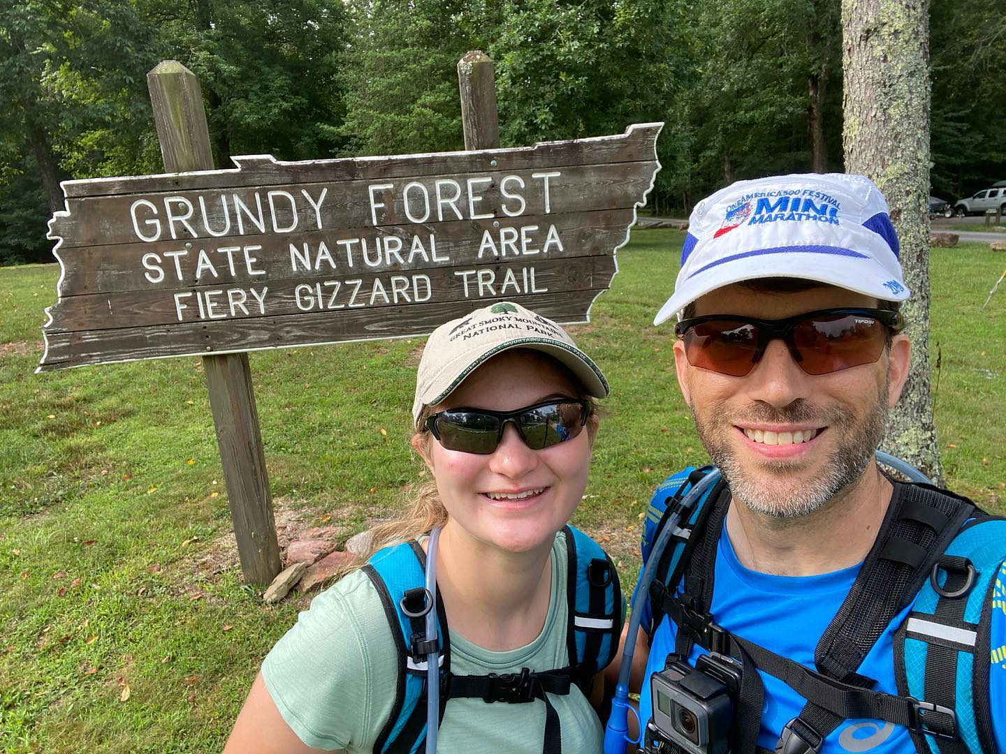 Yesterday Kate and I hiked the Fiery Gizzard trail to Raven Point (and back) for a total of 12 miles. Definitely the most technical trail I've ever tried, but it was a lot of fun experiencing it with my daughter. #hiking #family #fierygizzard