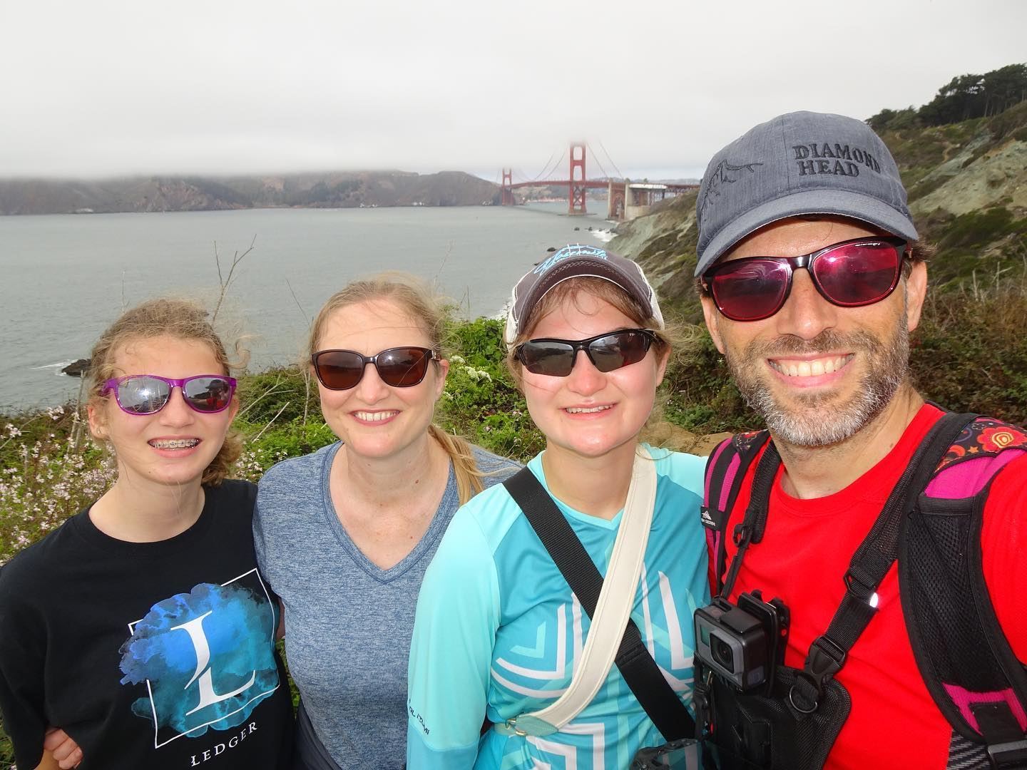San Francisco Day 4 - Spent my Birthday hiking along the coast from Land's End to Golden Gate Bridge to Fisherman's Wharf. 9 miles in total with ridiculous views the whole way. We then walked another half mile to North Beach for a pizza feast. One of the best birthdays I can remember. #family #travel