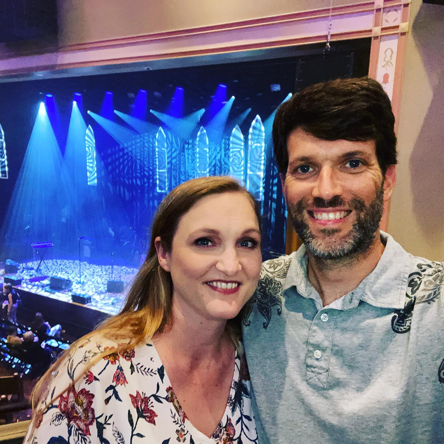 Date night in my favorite room with my favorite girl. Here to see @ellieholcomb headline @theryman for the first time!! #family #livemusic