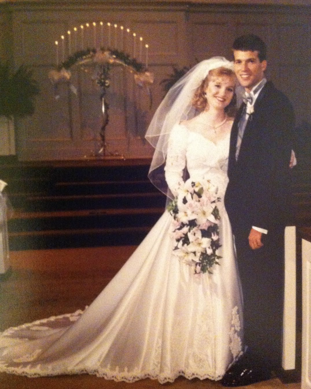 Happy 24th Anniversary to my beautiful bride, best friend, and soulmate. Amazing how we still look exactly the same. #family #anniversary