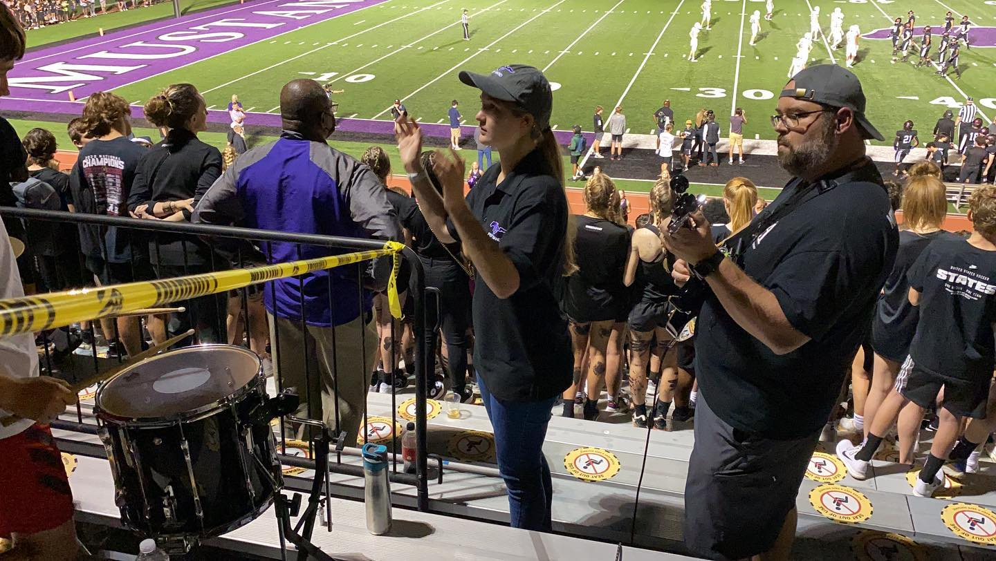 Kate is making her Lipscomb Academy Pep Band conducting debut tonight in the game vs Pulaski Academy. She is so excited for this opportunity!
